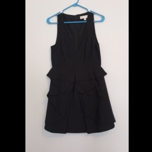 Anthropologie Keepsake black dress, size M